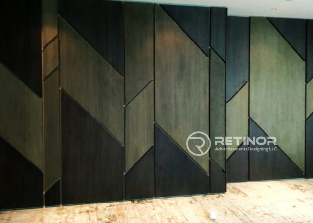 Wooden Paneling company in Dubai, UAE