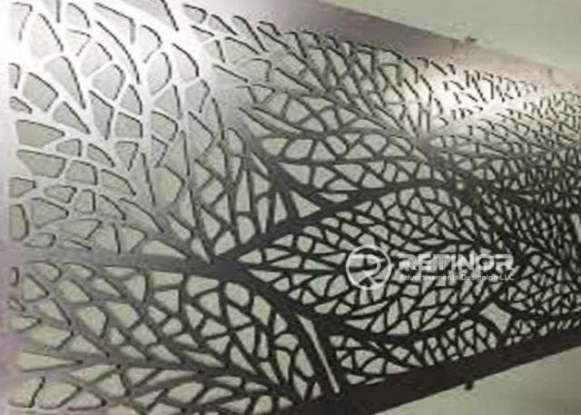 metal cutting works in UAE